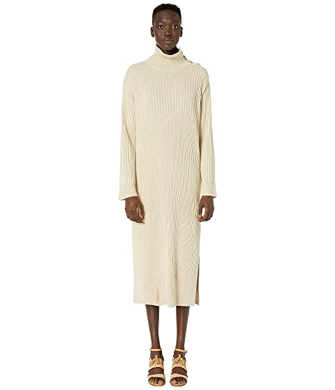 See by Chloe Maxi Sweater Dress with Slit