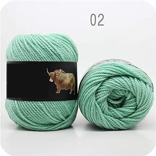 Daydreaming-shop 5balls=500g Yak Wool Yarn for Knitting Fine Worsted Blended Crochet Yarn Knitting Sweater Scarf 500/lot Yarn,02