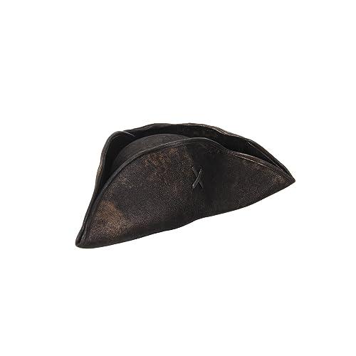 b6ecae54 Elope Scallywag Pirate Tricorn Costume Hat for Men & Women