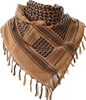 Military Shemagh Tactical Desert 100% Cotton Keffiyeh Scarf Wrap