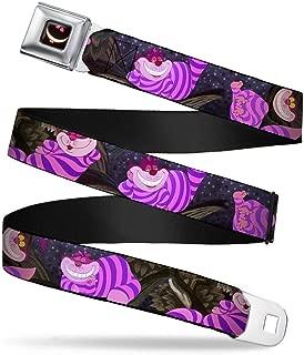 Buckle-Down Seatbelt Belt - Cheshire Cat Tree Poses - 1.5