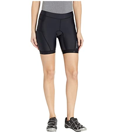 2XU Active 7 Tri Shorts (Black/Black) Women