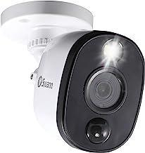 Swann SWPRO-1080MSFB-AU 1080p Thermal Sensing Sensor Warning Light Bullet Security Camera, 1 Count (Pack of 1)