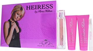Paris Hilton 4 Piece Gift Set for Women Heiress