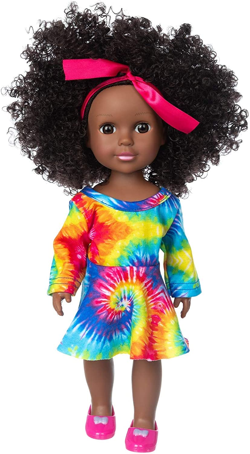 BDDOLL Black 2021 new Doll and Baby Clothes Sets A African Max 89% OFF Inch 14.5