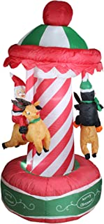 Best inflatable santa carousel Reviews