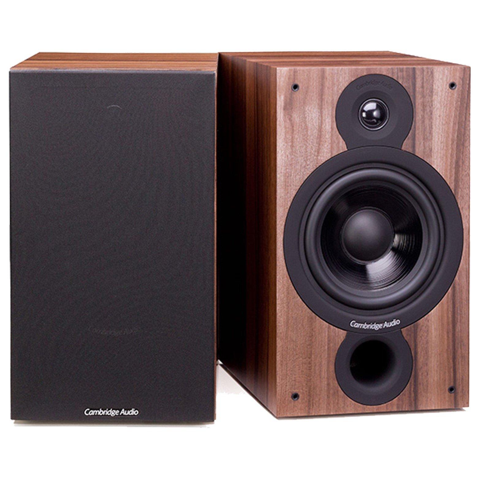 Cambridge Audio SX 60 Speakers Walnut