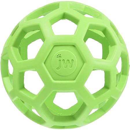 JW Pet Company 犬用おもちゃ ホーリーローラーボール ライトグリーン S サイズ