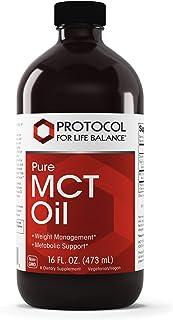 Protocol For Life Balance - Pure MCT Oil - 16 Fl oz (473 mL)