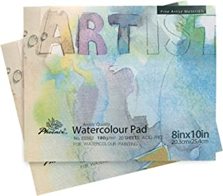 NARA Paper for Alcohol Ink Painting 320 GSM, Heavy Paper, 12x9