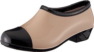 Aleader 4562320467094 CherryRed [Cherry Red] Women's Shoes Fashionable Shot Length Beautiful Legs Floral Pattern Rainy Rai...