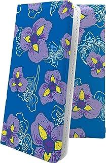 G'zOne TYPE-L CAL21 / G'zOne IS11CA マルチタイプ マルチ対応ケース ケース 手帳型 花柄 花 フラワー パンジー ジーズワン タイプ 和柄 和風 日本 japan 和 gzone typel cal 21 is 11ca おしゃれ