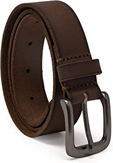 Timberland Boys' Big' Leather Belt for Kids