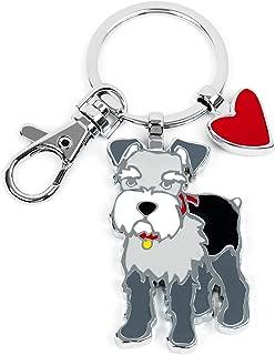 Marc Tetro Keyrings (Westie, Schnauzer, Boston Terrier, Dachshund, Pug, Beagle, Bassett Hound)