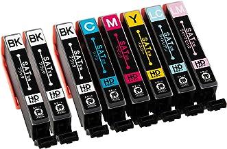 エプソン用 互換インク SAT(サツマイモ)互換 6色セット+黒2本 計8本(SAT-6CL互換)対応機種:EP-812A / EP-712A インクのチップス