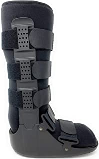 Superior Braces High Top, Non-Air, Low Profile Medical Orthopedic Walker Boot for Ankle & Foot Injuries (X-Small)