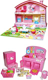 Hello Kitty Two Popular Sets - Kitty House and Kitchen - Sold Together