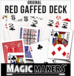 Magic Makers Bicycle Gaff Deck in Bicycle Red