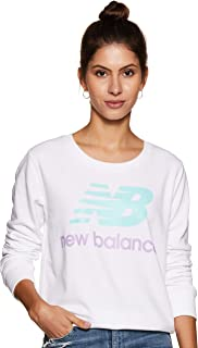 New Balance Womens Crew Neck Sweatshirt WT91585-P