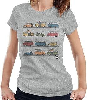 Volkswagen Vans and Beetles Women's T-Shirt