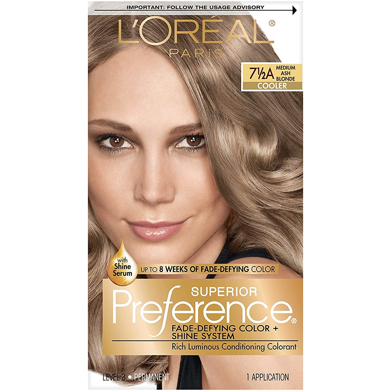 レジデンス資格深い海外直送肘 LOreal Superior Preference Hair Color Medium Ash Blonde, Medium Ash Blonde 1 each