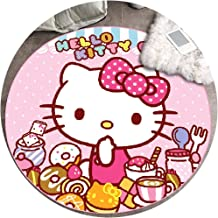 Area Carpet Round Carpet Nursery Rugs Carpets Nordic Cartoon Simple Home Suitable for Bedroom Coffee Table Mat Computer Ch...