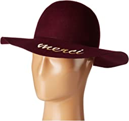 Hat Attack - What's Your Motto Felt - Merci