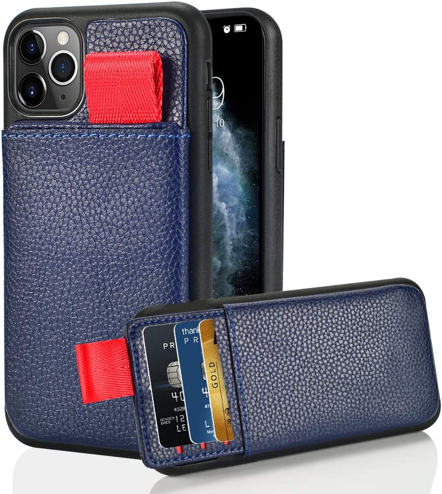 LAMEEKU Wallet Case for Apple iPhone 11 Pro Max 6.5
