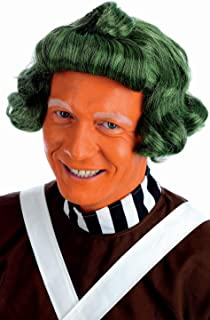 green oompa loompa wig