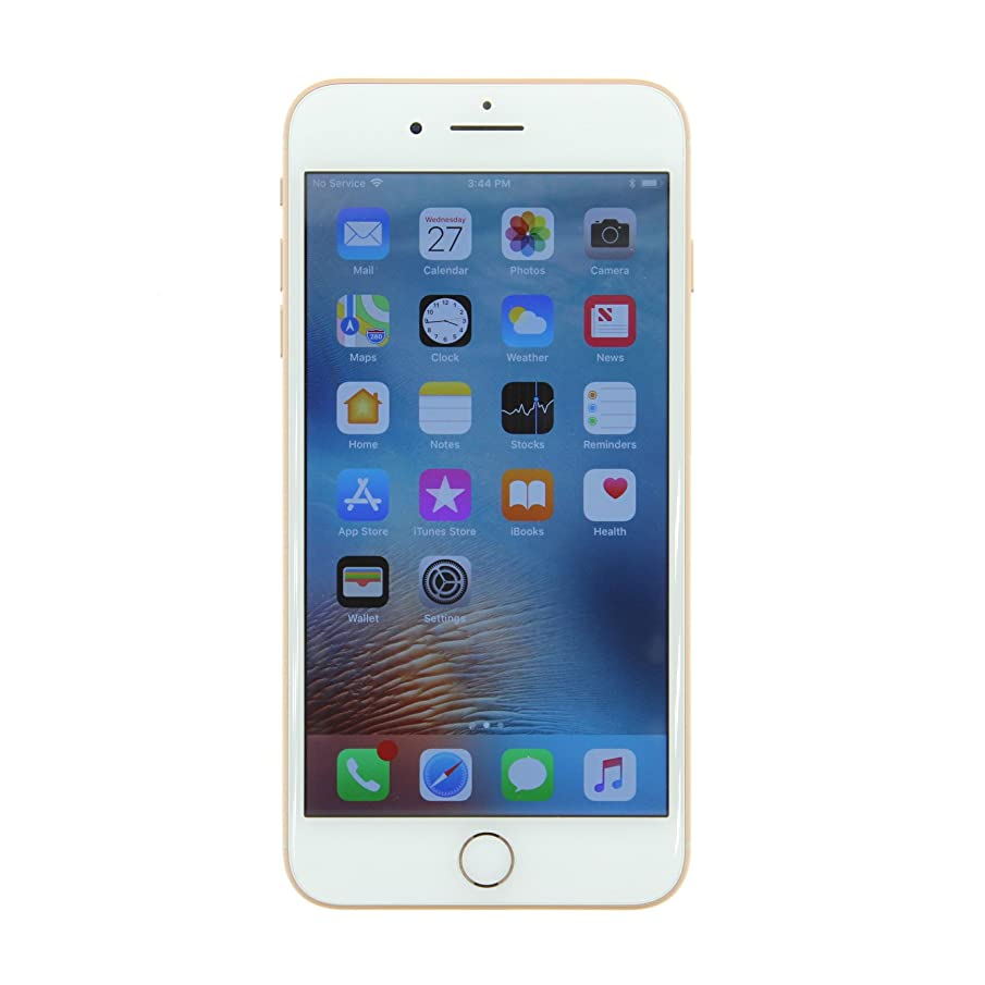 Apple iPhone 8 Plus, Fully Unlocked, 256GB - Gold (Renewed)