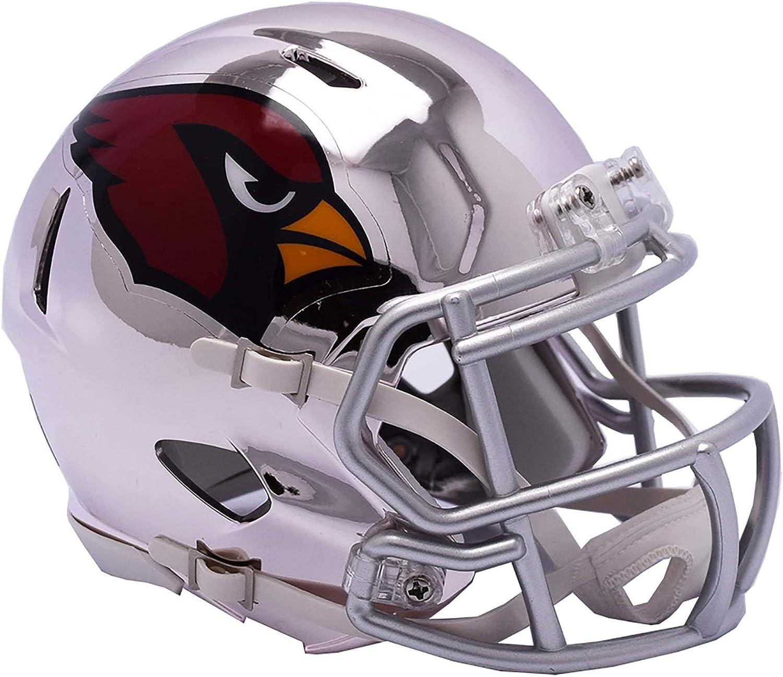 Sports Memorabilia Riddell Arizona Cardinals Chrome Alternate Speed Mini Football Helmet  NFL Mini Helmets