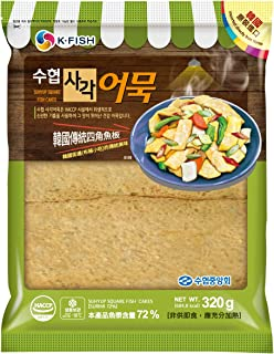 Suhyup Korean Square Fish Cake, 320g - Frozen