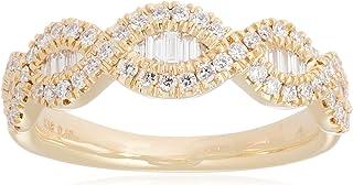 [ベルシオラ] BELLESIORA 【 K18YGイエローゴールドダイヤモンドリング 】 4008231131003009 日本サイズ9号