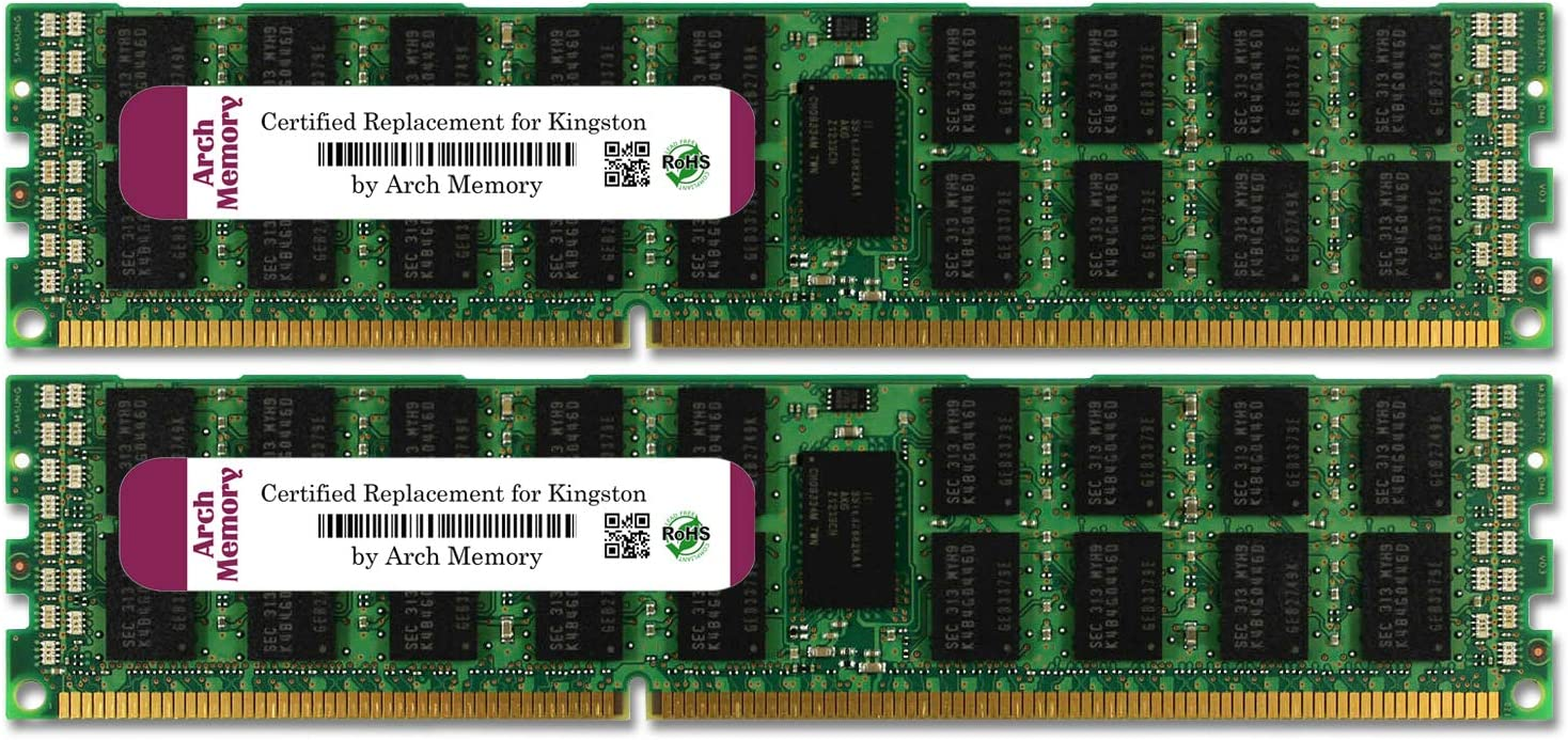 Arch Memory 16 Louisville-Jefferson County 100% quality warranty! Mall GB 2 x 8 RAM DDR3 240-Pin R Rdimm ECC Server