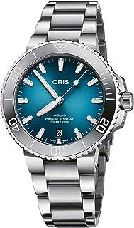 Oris Aquis Date Oceanic Blue 39.5mm Steel Mens Watch 01 733 7732 4155-07 8 21 05PEB