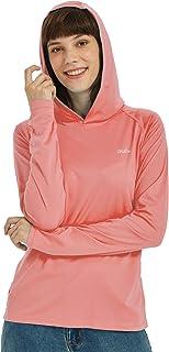 Willit Women's UPF 50+ Sun Protection Hoodie T-Shirt Long Sleeve SPF Running Hiking Shirt