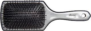 Diane Silver Cushion Paddle Brush, Large, 13 Row (D1037)
