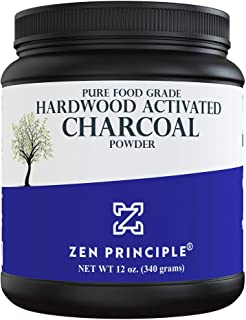 Activated Charcoal Powder only from USA Hardwood Trees. All Natural. Whitens Teeth, Rejuvenates Skin and Hair, Detoxifies,...