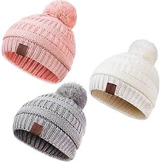 H3E# NEW Fashion Kids Baby Pilot Hat Winter Warm Cap Unisex For 10-48 Months