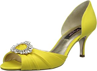 Best canary yellow peep toe pumps Reviews