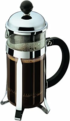 Amazon.com: SOPRETY - Cafetera de acero inoxidable con 3 ...