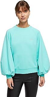 KARL LAGERFELD Balloon Slv Logo Sweatshirt Sudadera para Mujer