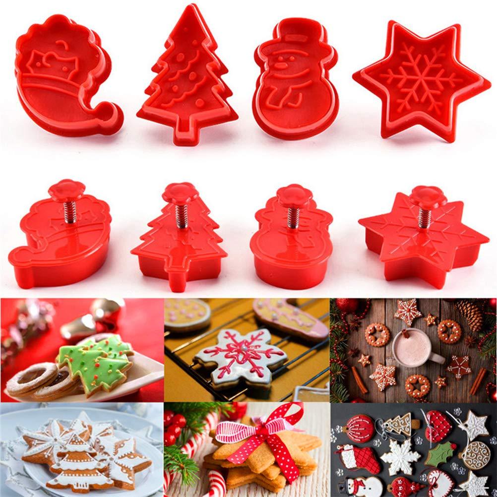 Uscyo Christmas Cutters Bakeware Accessories