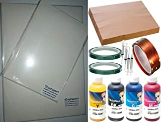 A4 Combo de sublimación GlopPaper Papeles, tintas y Cintas para sublimación