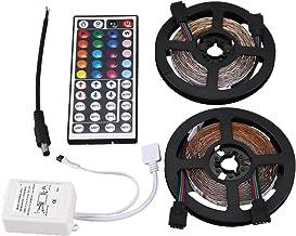 TOOGOO 10m 2x5M 3528 SMD 600 LED String Strip Light RGB + Remote Control