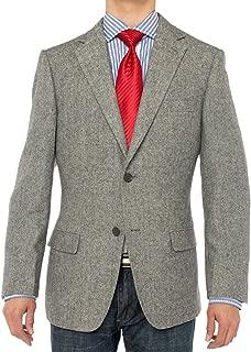 Men's Luxurious Camel Hair Blazer Modern Fit Suit Jacket