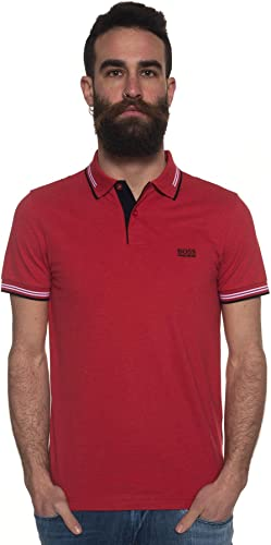 BOSS by Hugo Polo - Homme Rouge Rouge