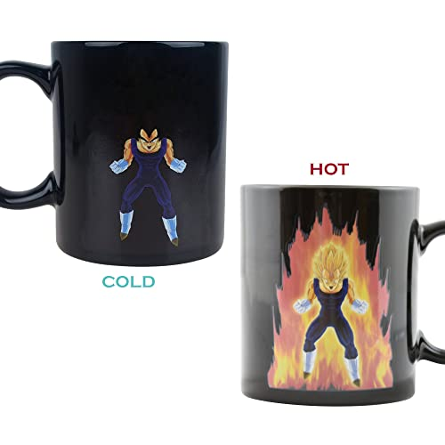 Dragon Ball Z Heat Reactive Color Changing Coffee Mug Vegeta
