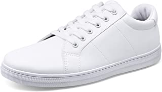 Men's Fashion Sneakers White Shoes for Men Casual...