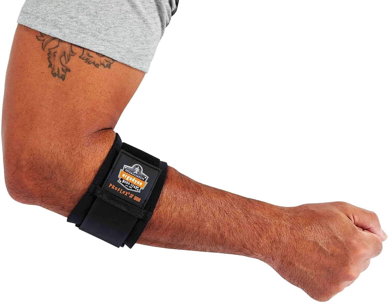 Ergodyne - 16003 San Francisco Mall ProFlex 500 Elbow Support Black Limited time sale Medium